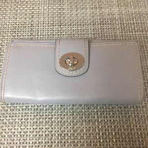 Authentic Coach Lavender Wallet